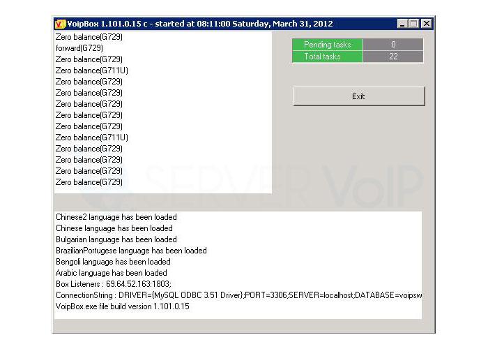 """23.3 Resolver el Error que se Presenta al Ejecutar """"VoIPBox"""""""