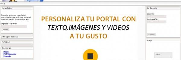 """14.0 Explicación General de las Opciones Disponibles en el Módulo """"Portal"""""""